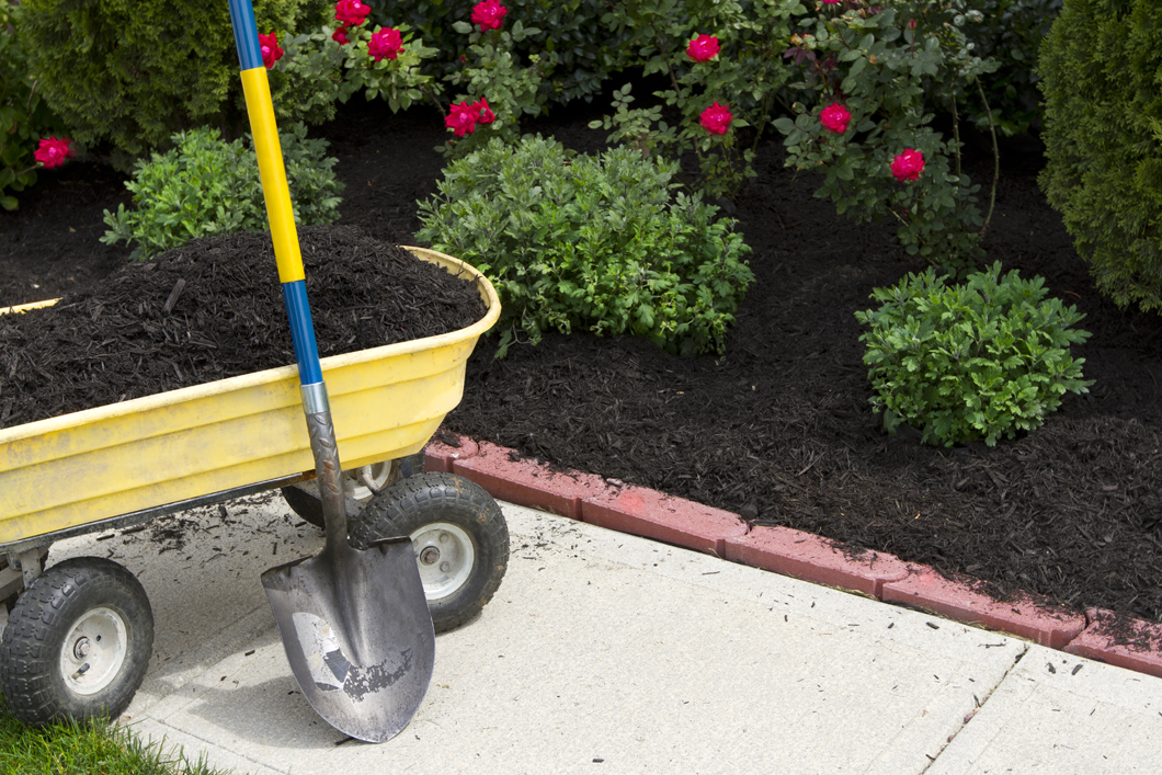 For Mulching Services, Contact Blades Lawn Care Company